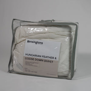 Hungarian Natural Feather Duvet Quilt 50/50