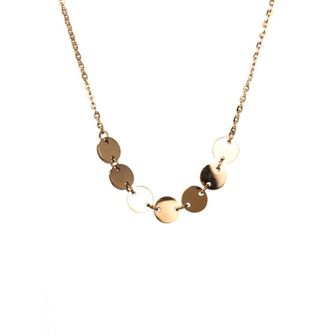 Disc Link Necklace