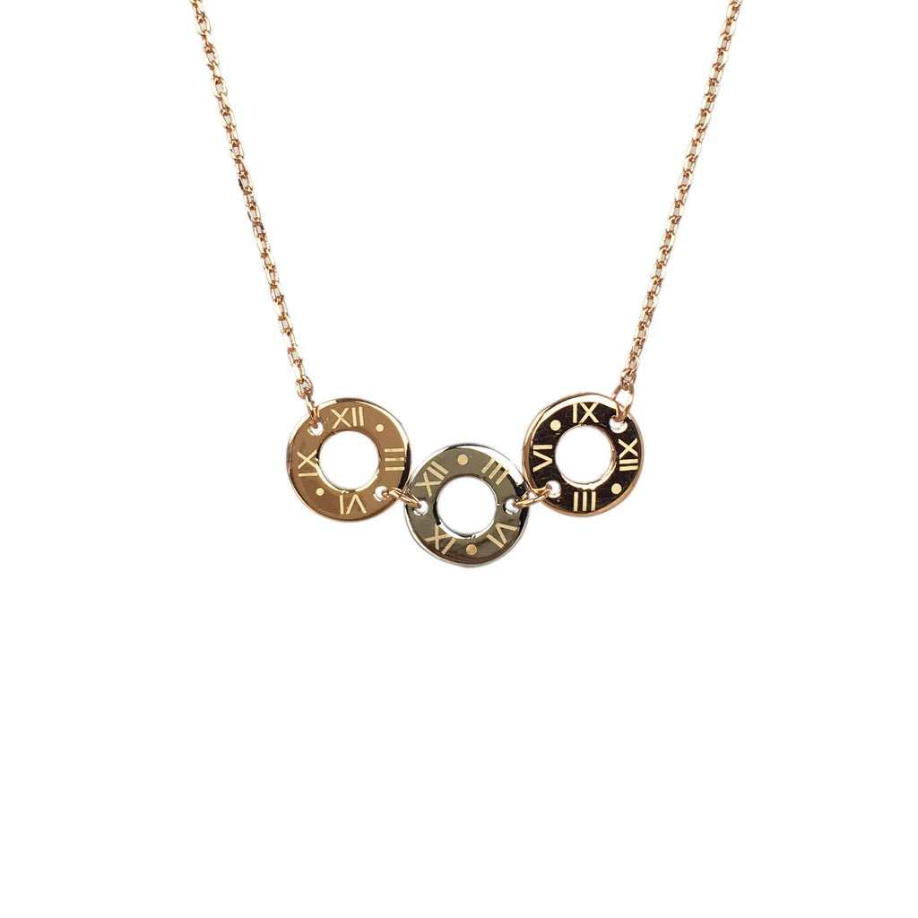 Circle Necklace - www.sparklingjewellery.com