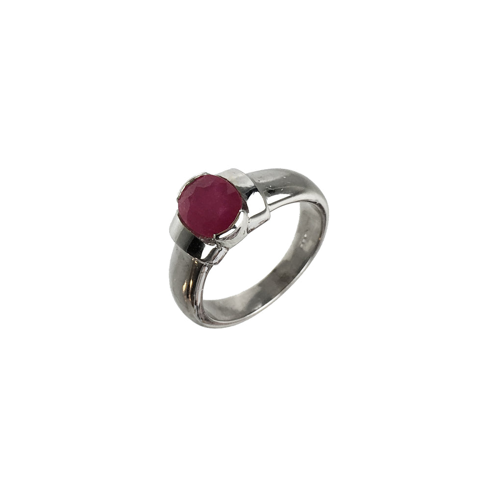 Pink Ruby Ring - www.sparklingjewellery.com