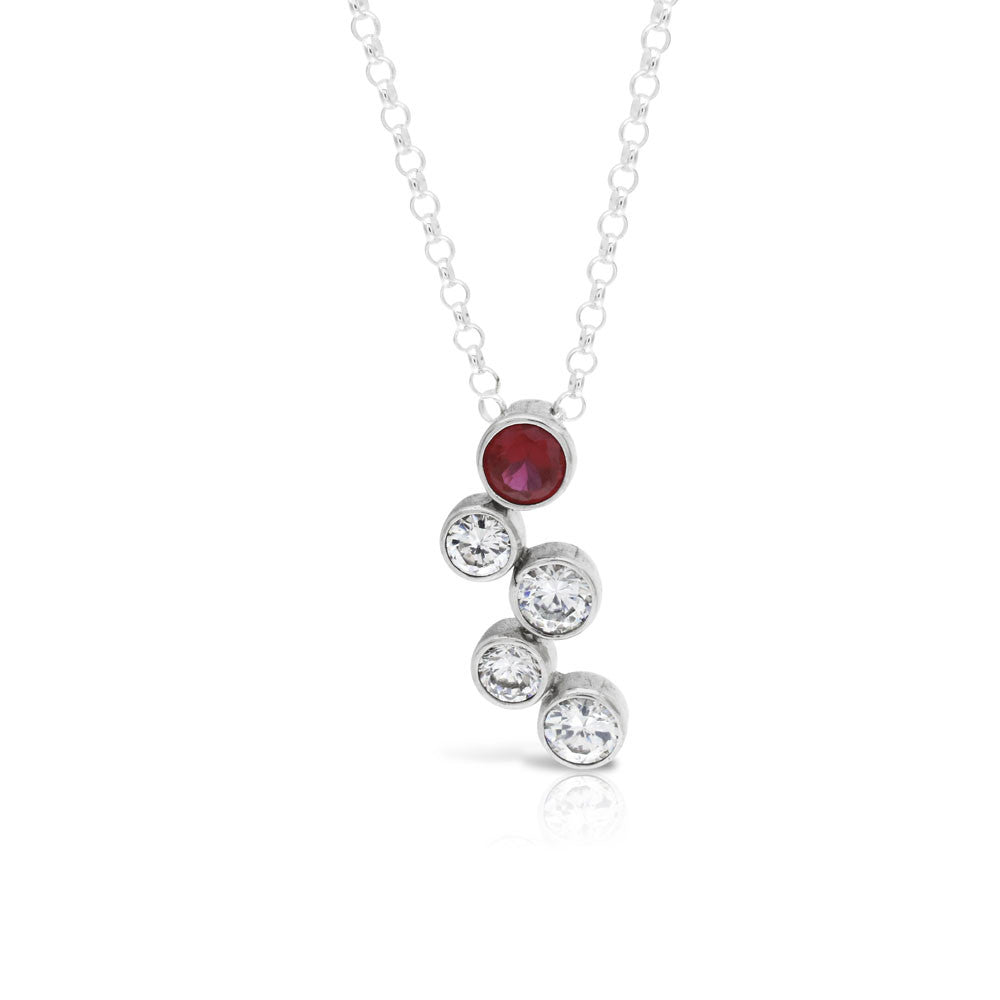 Raindance Ruby Pendant