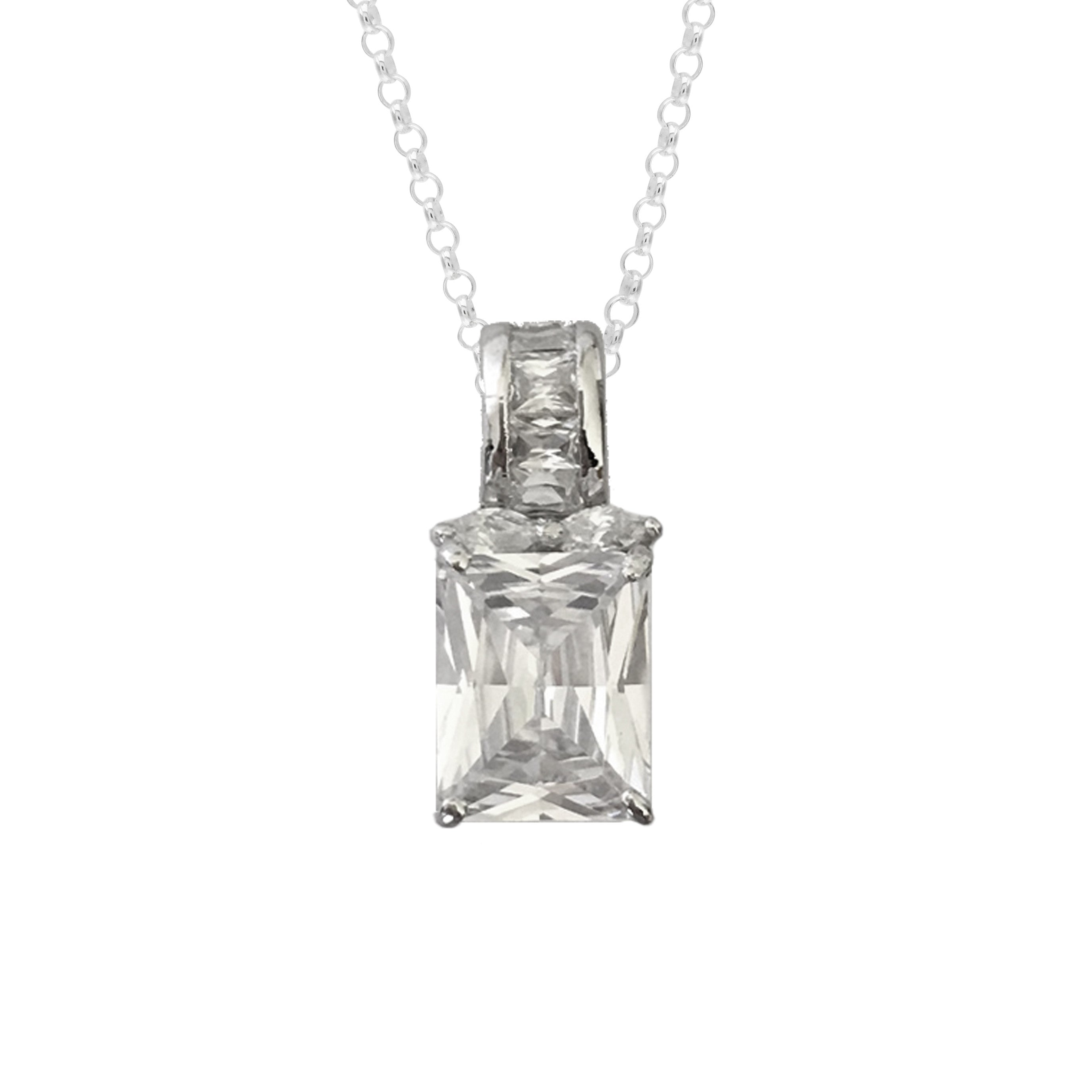 diamond laudus web products olivier simulated florette necklace