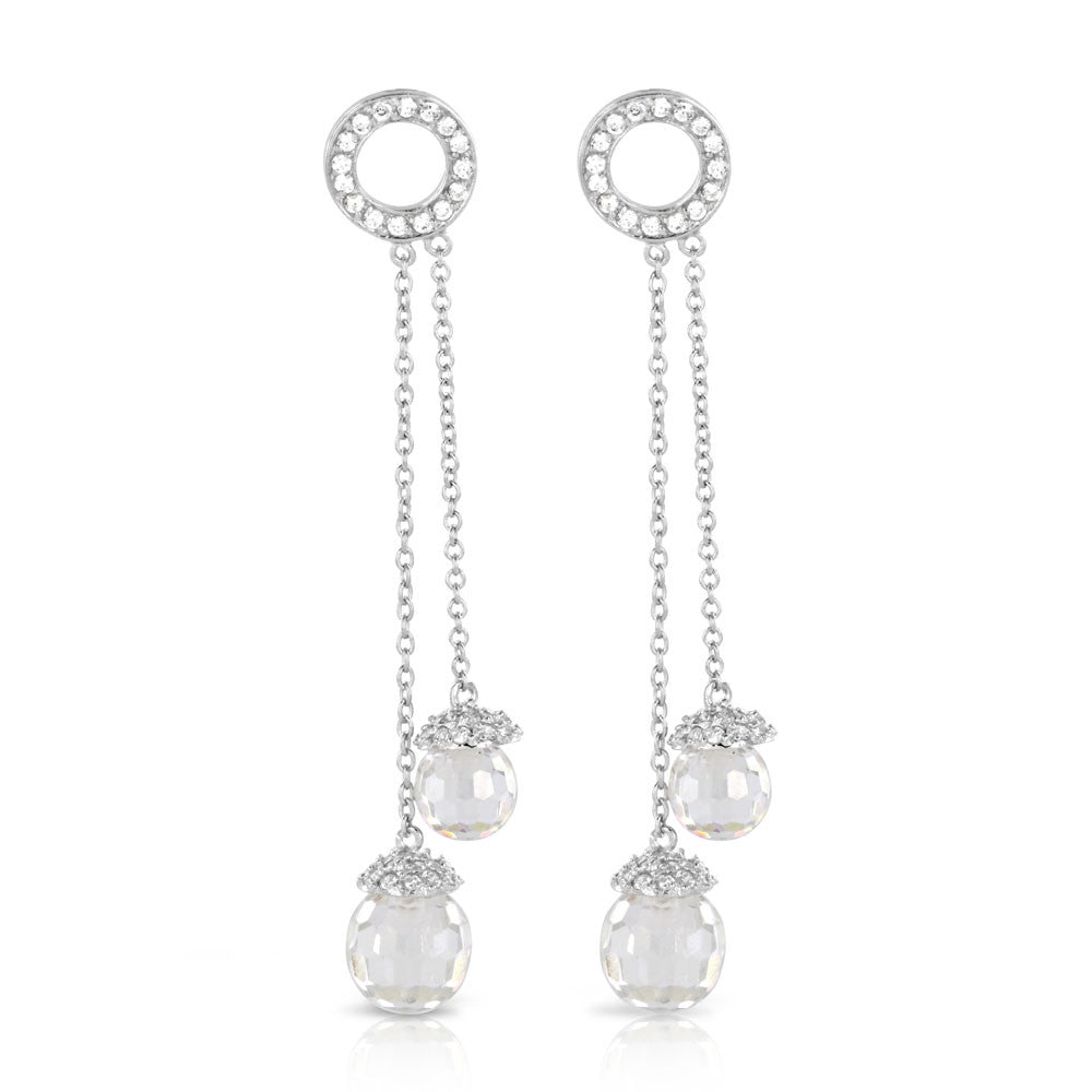 Luxury Crystal Earrings - www.sparklingjewellery.com