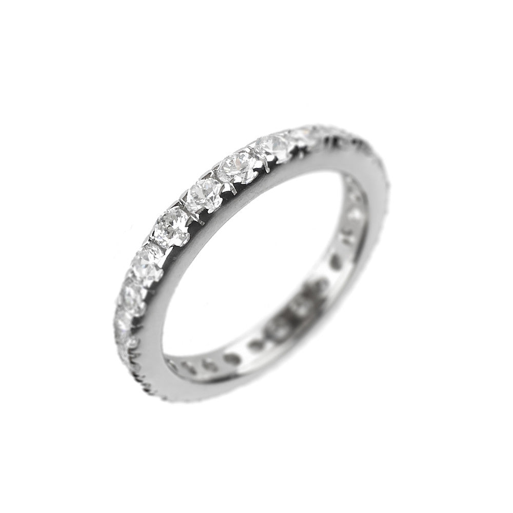 Simulated Diamond Full Eternity Ring