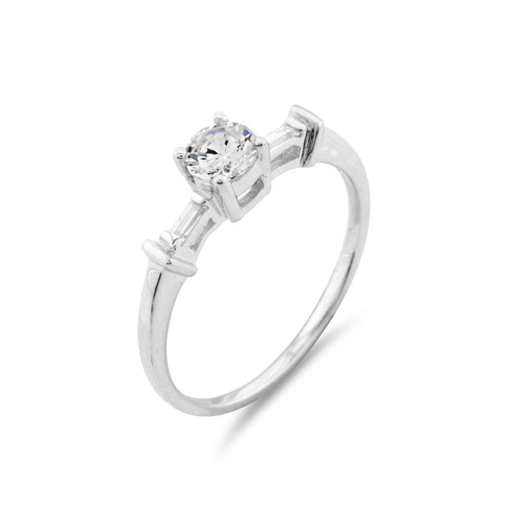 Solitaire Ring - www.sparklingjewellery.com