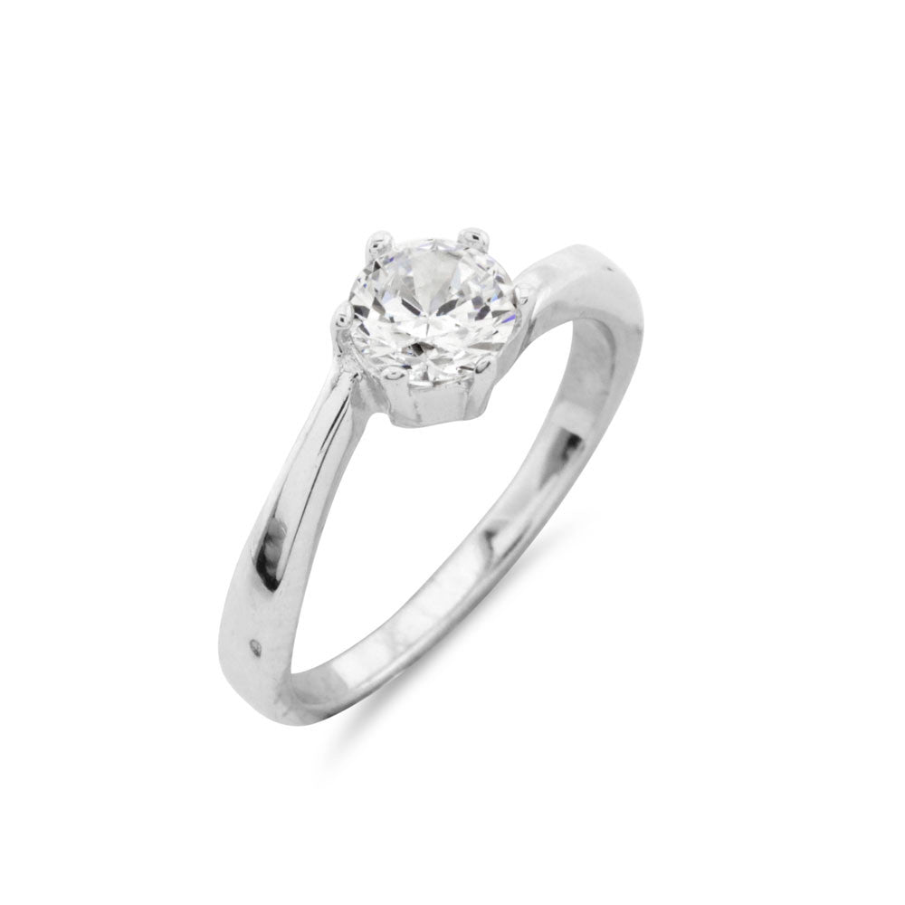 Solitaire Engagement Ring - www.sparklingjewellery.com