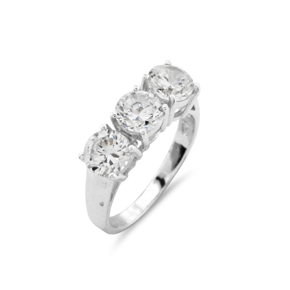 Classic Trilogy Ring - www.sparklingjewellery.com