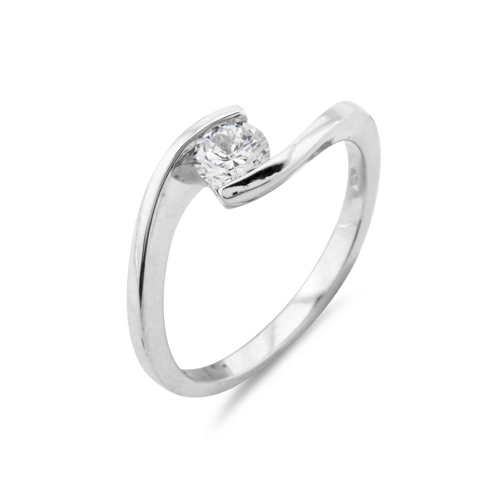 0.5ct Solitaire Engagement Ring - www.sparklingjewellery.com
