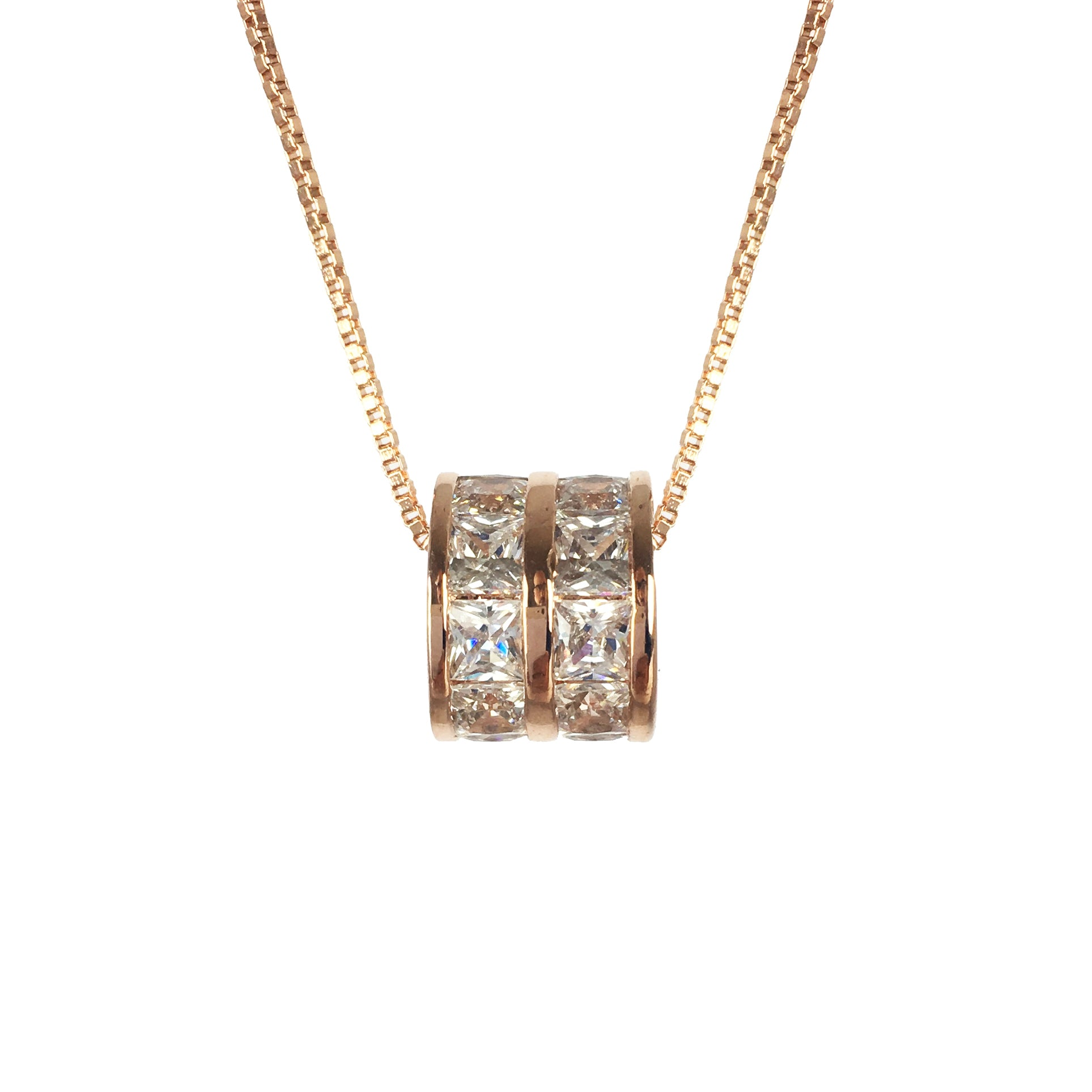 h webstore white heart necklace pendant product samuel d cubic number gold zirconia