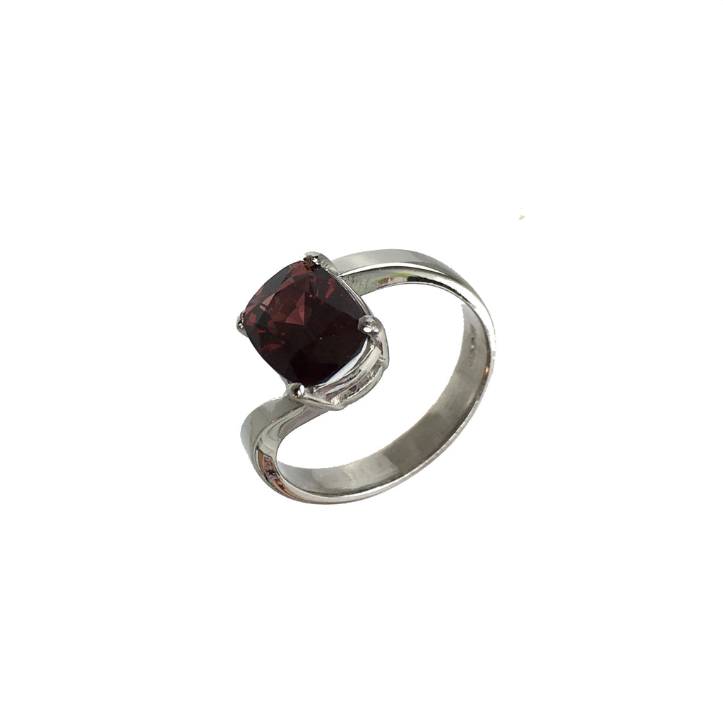 Rhodalite Red Garnet Oval RIng