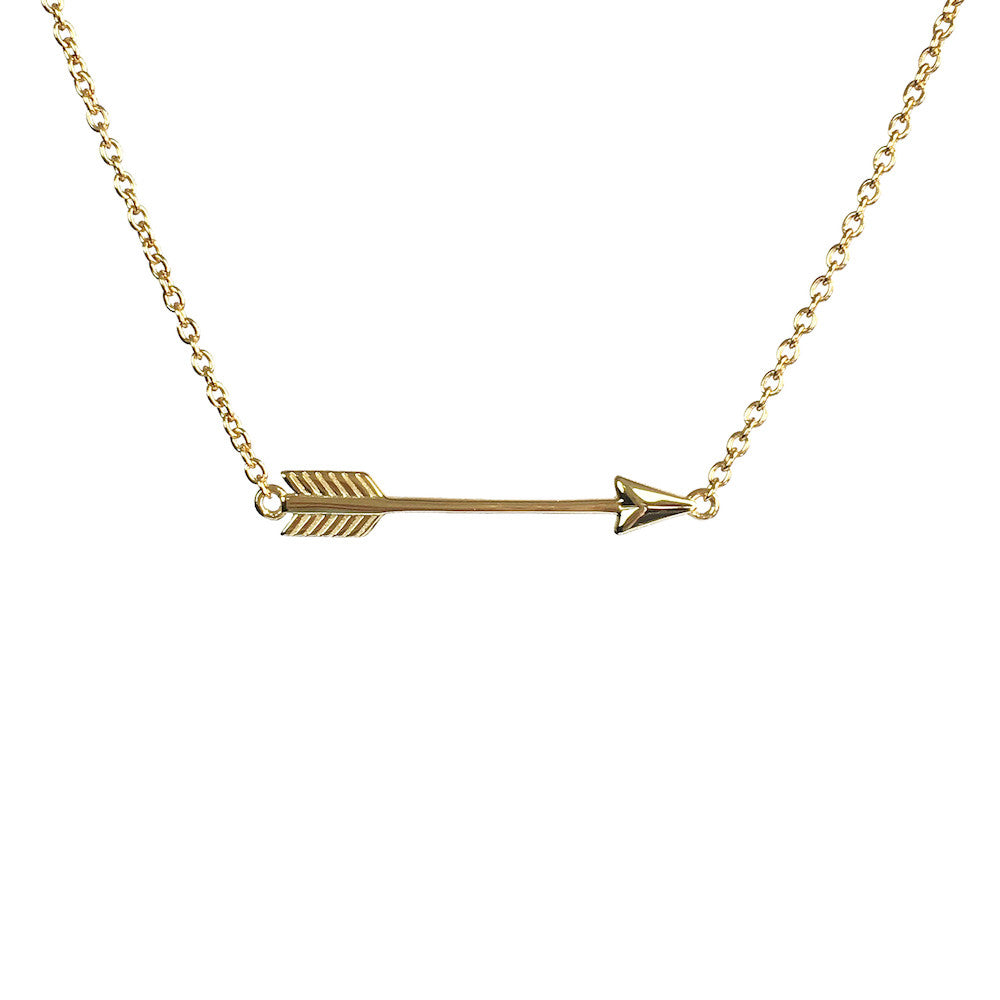 Hoxton Arrow Necklace - www.sparklingjewellery.com