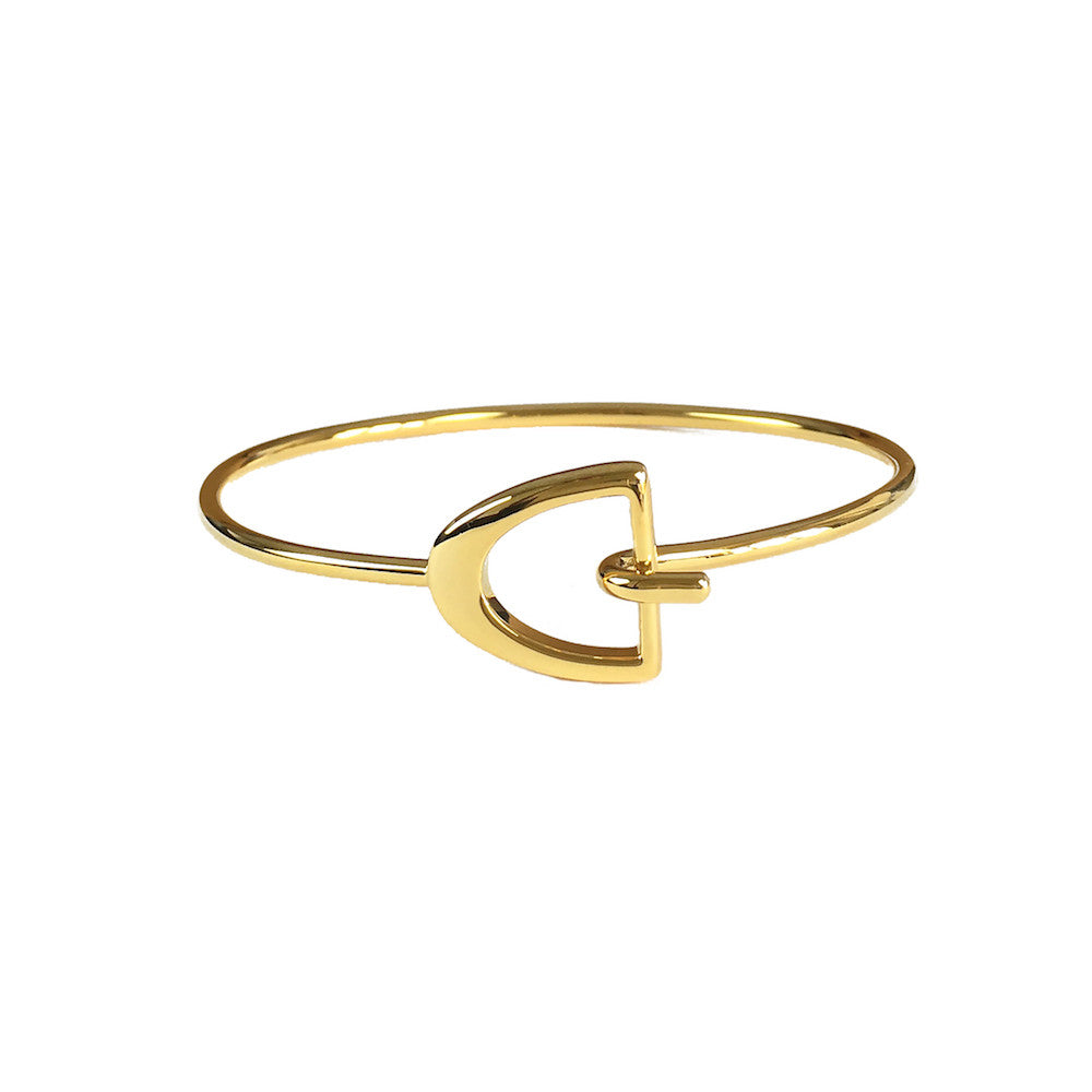 Valegro Stirrup Bangle - www.sparklingjewellery.com