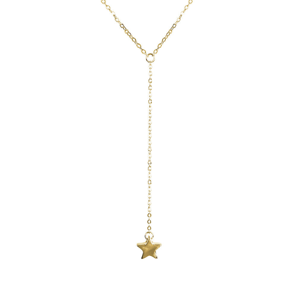 Hoxton Wish Upon A Star Necklace - www.sparklingjewellery.com