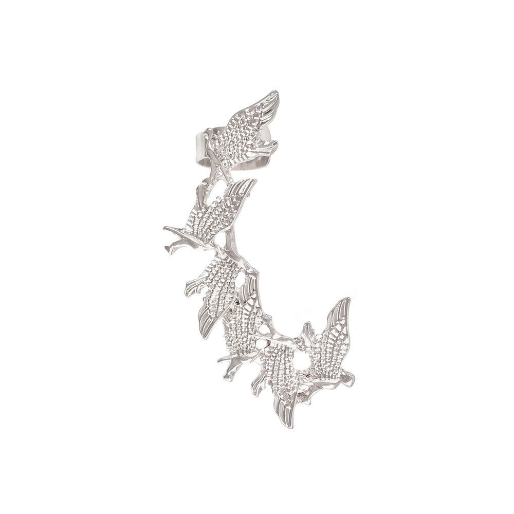 Flutter of Birds Ear Wing - www.sparklingjewellery.com