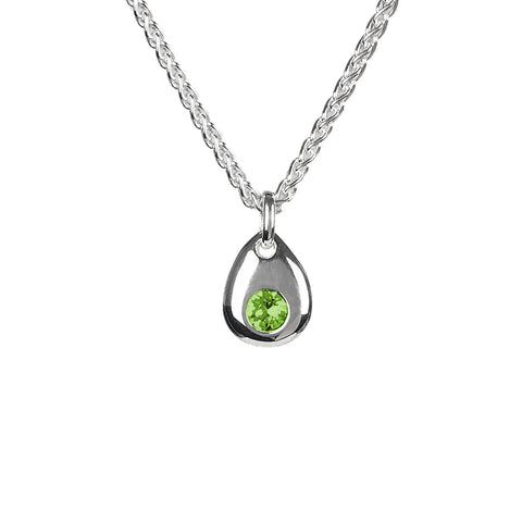 Birthstone Pendant Necklace - Choose Yours - www.sparklingjewellery.com