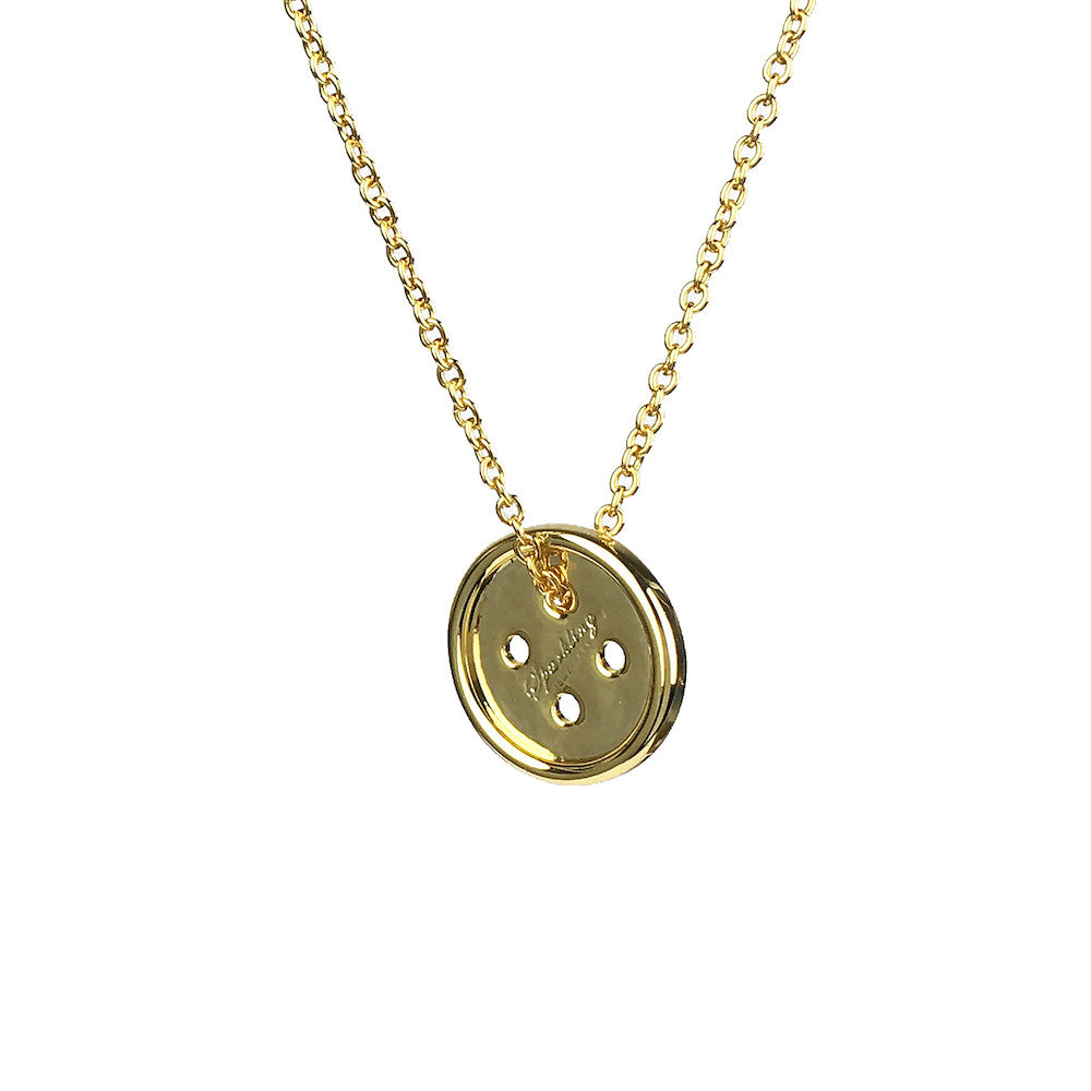 Button Necklace - www.sparklingjewellery.com