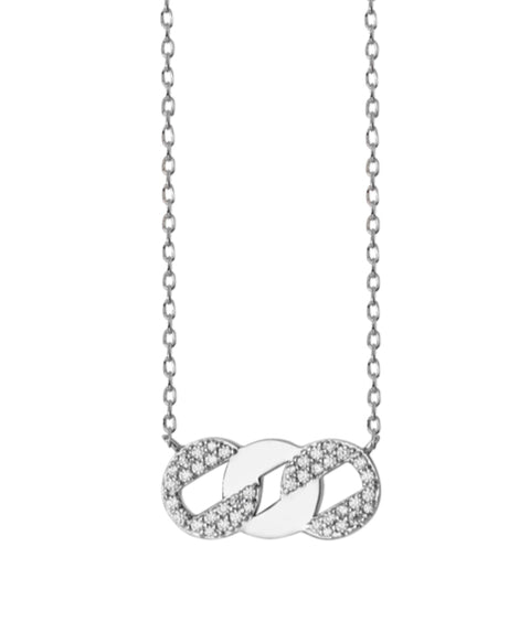 Sparkling Chain Designer Limited Edition Necklace - www.sparklingjewellery.com