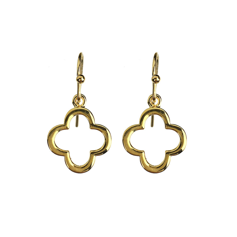 Clover Drop Earrings