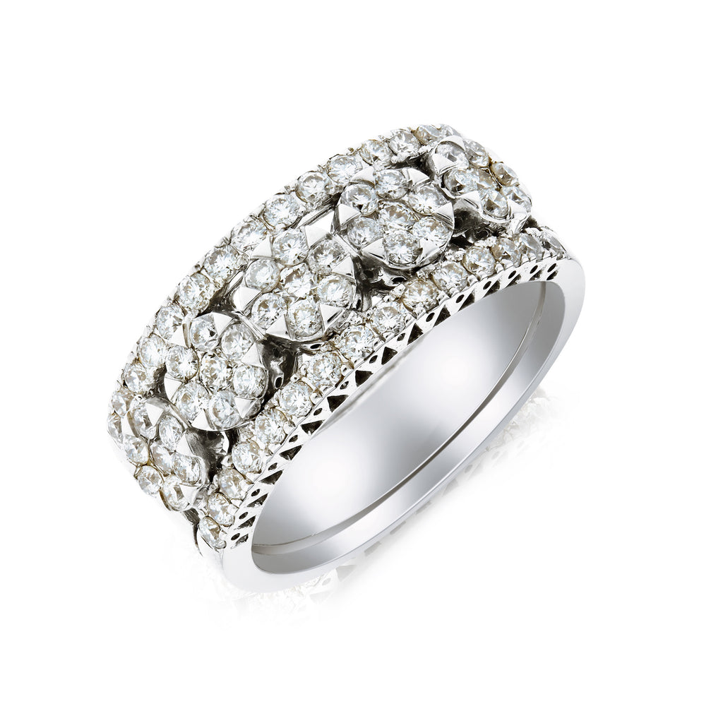 Empress Diamond Ring - www.sparklingjewellery.com