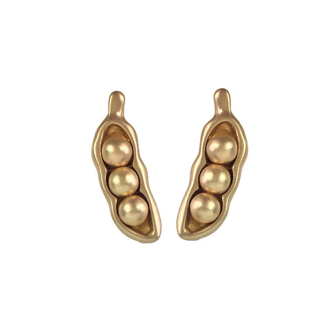 Pea's In A Pod Earrings - www.sparklingjewellery.com