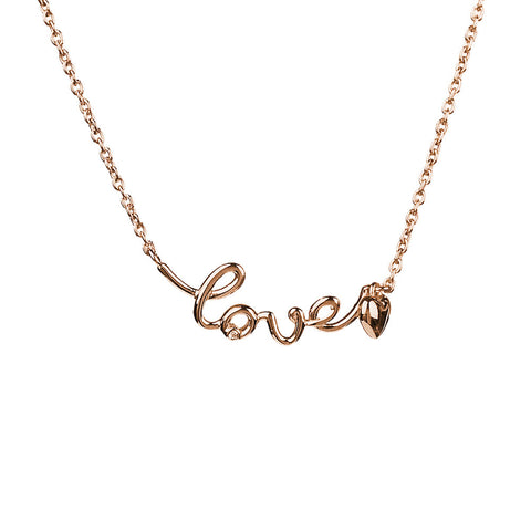 Hoxton Love Necklace with Heart