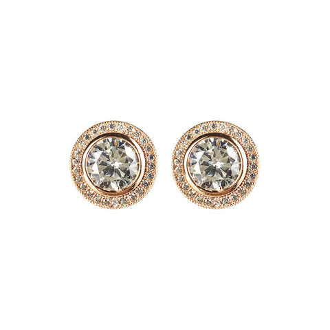 Hoxton Halo Earrings - www.sparklingjewellery.com