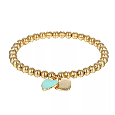 Return to Forever Love New York Beaded Bracelet. - www.sparklingjewellery.com