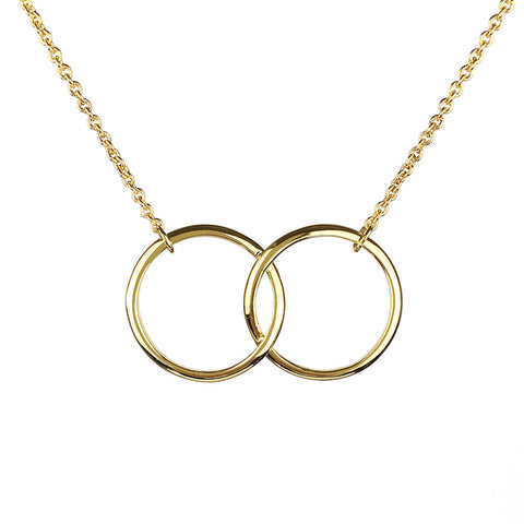 Kismet Two Ring Necklace