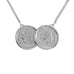 Premium Two Coin Necklace