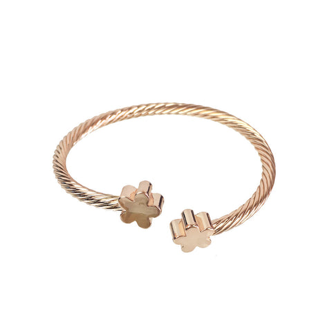 Clover Twisted Bangle