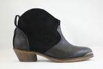 Boot Low Heel Black