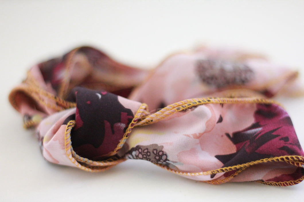 Boho Ribbons Old Pink/Purple