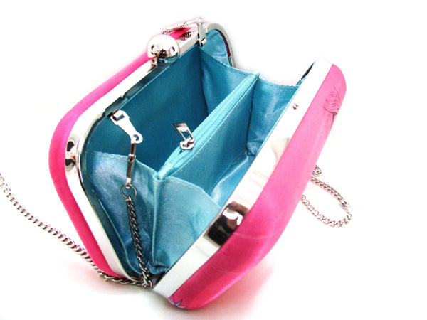 Pink Rock Ghungroo Box Clutch