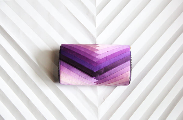 Purple Infinity clutch