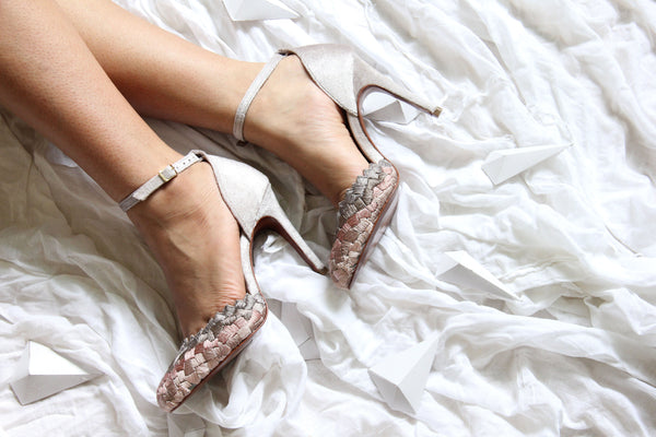 Grey Cascade Stiletto