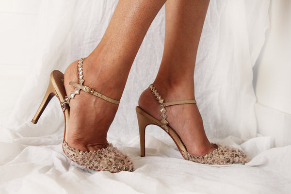 Nude Dragonscale Stiletto