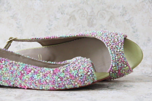 kaleidoscopic sharmila sandals- 5mm flat