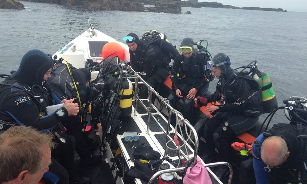 Guided Dives Seal Bay Saturday 2nd July 2016