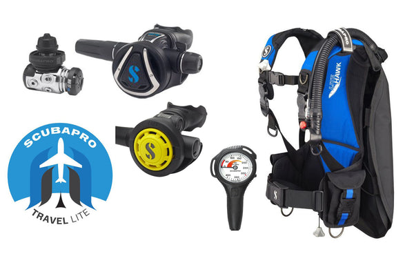 SCUBAPRO LIGHTWEIGHT TRAVEL PACKAGE