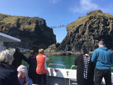 Giants Causeway,  Carrick A Rede, Kenbane boat trip from Ballycastle