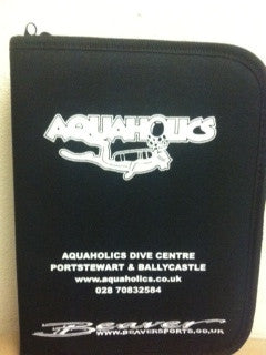 Aquaholics Dive Folder