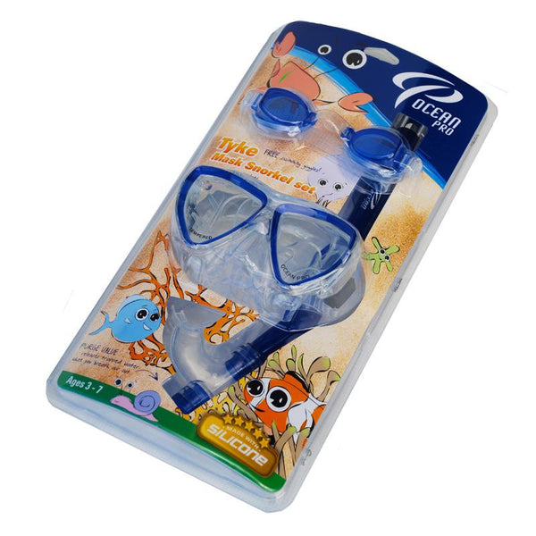 OCEANIC TYKE CHILD'S MASK, SNORKEL, GOGGLES SET