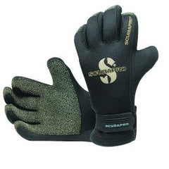 Old style SCUBAPRO K-GRIP 5mm Gloves