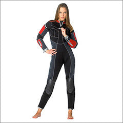 Ladies Waterproof Aries 7mm/ Lynx 5mm Wetsuits