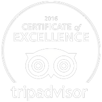 Trip Adivsor Certificate of Excellence 2016