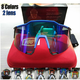 8 color 2 lens Cycling sunglasses men&women eyewear