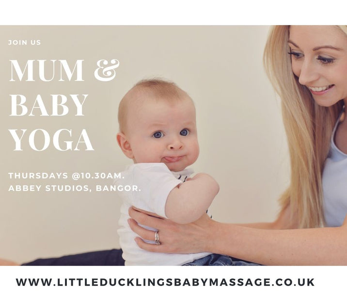 10 AMAZING reasons why you should come along to our little ducklings Mum & baby yoga classes: 💕