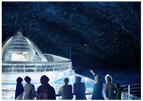 STARGAZING WITH DISCOVERY AT SEA