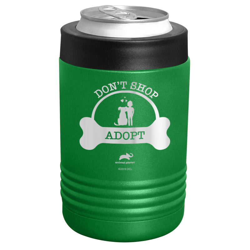 Animal Planet - Don't Shop Adopt Stainless Steel Beverage Holder