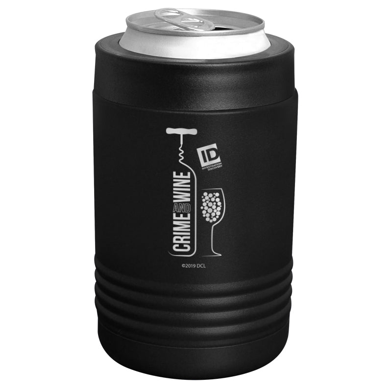 ID Network - Crime and Wine Stainless Steel Beverage Holder